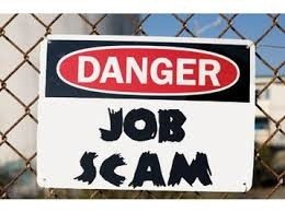 Job Ad Scammers & Snoopers