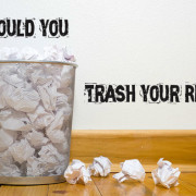 trash your resume