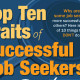 Top 10 Successful Job Hunter Traits