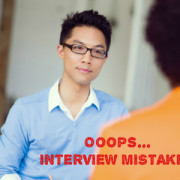 How to fix Interview Mistakes and Still Get the Job