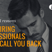 10 Real Reasons Why Recruiters & HR Managers Don't Call You Back
