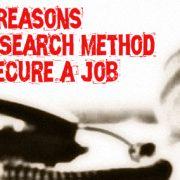 Job Search Method Fail